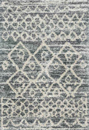 Loloi Quincy Qc-02 Graphite - Beige Area Rug