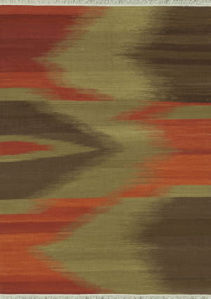 Loloi Santana Sa-05 Red / Brown Area Rug