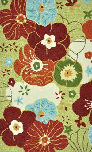 Loloi Summerton Sumrssc08 Lime/Multi Area Rug