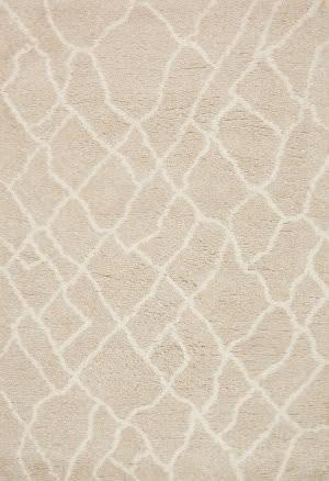 Loloi Tangier Shag Tg-01 Sand - Beige Area Rug