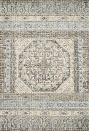 Loloi Tatum Tw-02 Stone - Blue Area Rug