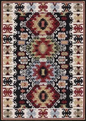 Loloi Taos TO-01 Black Area Rug
