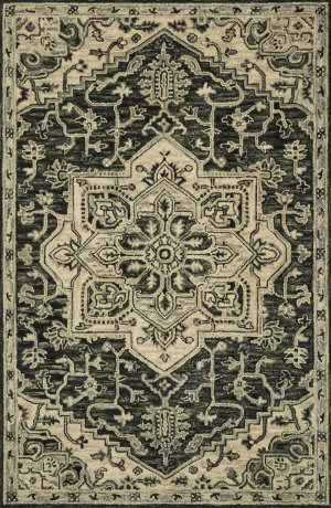 Loloi Victoria Vk-15 Charcoal - Light Grey Area Rug