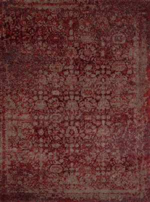 Loloi Viera VR-05 Red / Taupe Area Rug