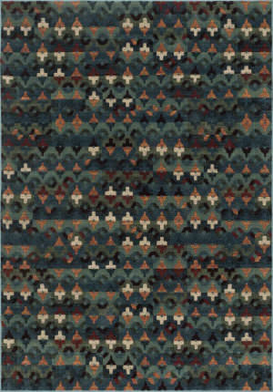Loloi Vista VT-05 Blue / Multi Area Rug