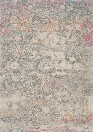 Loloi Zehla Zl-02 Grey - Multi Area Rug