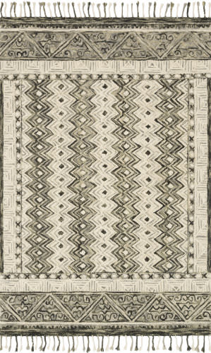 Loloi Zharah Zr-14 Charcoal - Taupe Area Rug