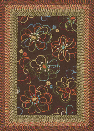 Loloi Zamora Zm-02 Brown Area Rug