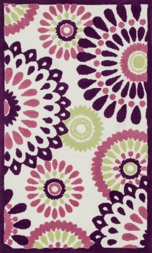 Loloi Zoey Zo-06 Purple - Multi Area Rug