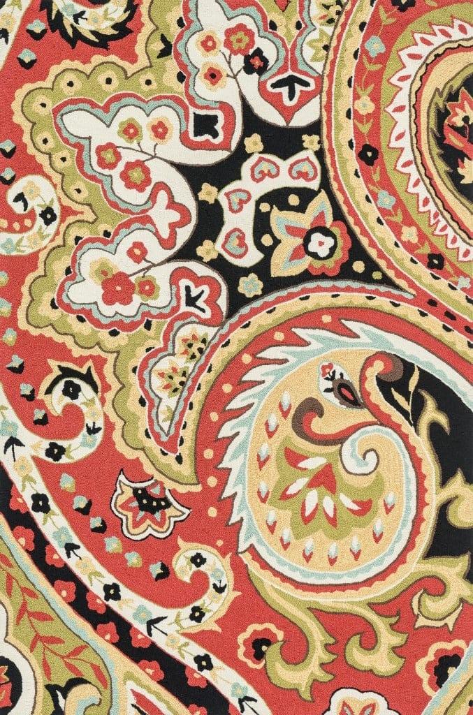 Loloi Francesca Fc 09 Red Black Area Rug 68284