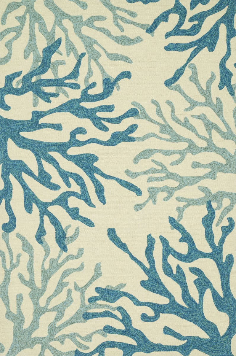 Loloi Ventura Hvt04 Blue Coral Rug Studio