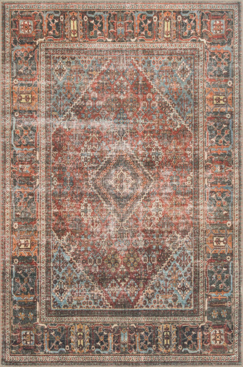 Loloi Loren Lq 13 Brick Midnight Rug Studio