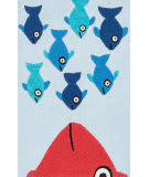 Loloi Angelou AN-05 Blue / Orange Area Rug