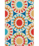 Loloi Angelou AN-17 Blue / Multi Area Rug