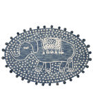 Loloi Fante Fan-02 Denim Area Rug