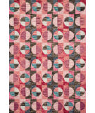 Loloi Hallu By Justina Blakeney Hal-06 Berry - Charcoal Area Rug