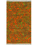 Loloi Aria AR-14 Orange / Lime Area Rug
