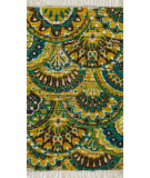 Loloi Aria AR-17 Peacock / Yellow Area Rug