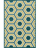 Loloi Catalina CF-01 Peacock / Citron Area Rug