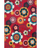 Loloi Catalina CF-06 Red / Multi Area Rug