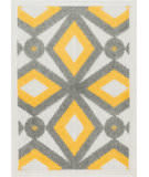 Loloi Terrace TC-09 Grey / Lemon Area Rug