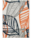 Loloi Terrace TC-17 Ivory / Orange Area Rug