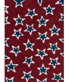Loloi Lola Shag Ll-06 Red - Navy Area Rug