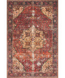 Loloi Loren Lq-07 Red - Navy Area Rug