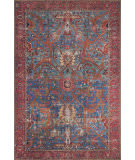 Loloi Loren Lq-10 Blue - Red Area Rug