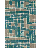 Loloi Nova NV-01 Teal / Grey Area Rug