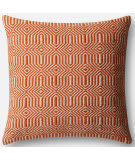 Loloi Pillow P0339 Orange - Ivory