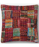 Loloi Pillows P0535 Red - Multi