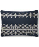 Loloi Pillows P0833 Navy - Ivory Area Rug