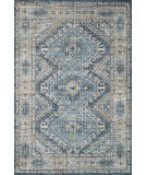 Loloi II Skye Sky-03 Denim - Natural Area Rug