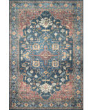 Loloi II Skye Sky-08 Denim - Brick Area Rug