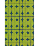 Loloi Venice Beach Vb-03 Lime / Blue Area Rug