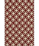 Loloi Venice Beach Vb-05 Red / Ivory Area Rug