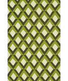 Loloi Venice Beach Vb-12 Green Trellis Area Rug