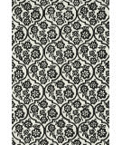 Loloi Venice Beach Vb-15 Ivory / Black Area Rug