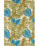 Loloi Venice Beach Vb-23 Ivory - Green Area Rug
