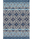Loloi Venice Beach Vb-26 Blue - Ivory Area Rug