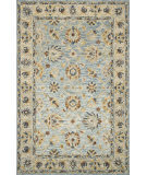 Loloi Victoria Vk-18 Light Blue - Natural Area Rug