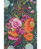 Loloi Wild Bloom Wv-04 Midnight - Plum Area Rug