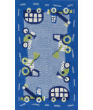 Loloi Zoey Zo-02 Blue - Green Area Rug