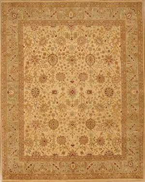 Lotfy and Sons Nuance 871 Light Gold/Light Green Area Rug