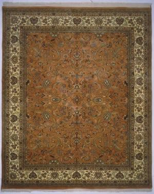 Lotfy and Sons Narmada 320 Light Rose/Ivory Area Rug