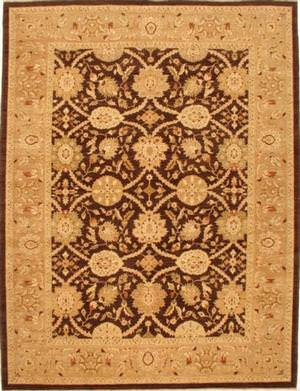 Lotfy and Sons Mahal 212 Brown/Beige Area Rug