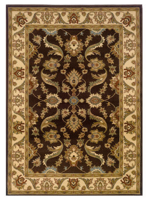 Lr Resources Adana 80371 Brown - Cream Area Rug