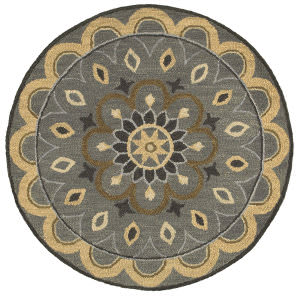Lr Resources Dazzle 54055 Gray Area Rug