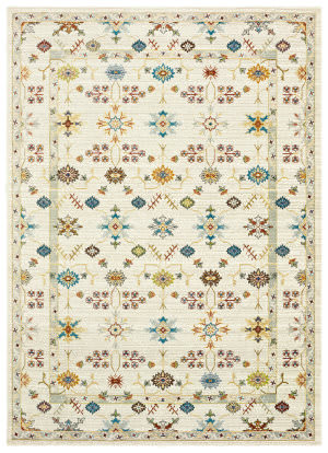 Lr Resources Gala 81277 Cream Multi Area Rug